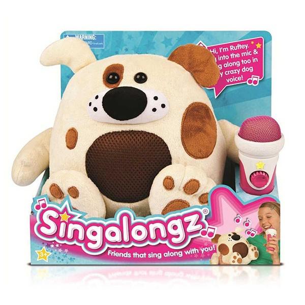 Singalongs Zpívající plyšová zvířátka, Pejsek