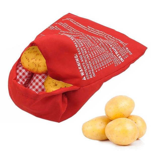 Potato Express kapsa na pečení brambor červená