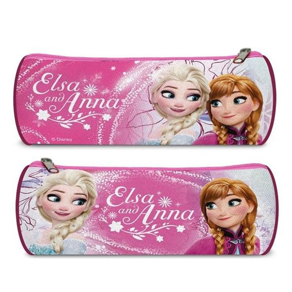 Kulatý penál Ledové Království Anna a Elsa