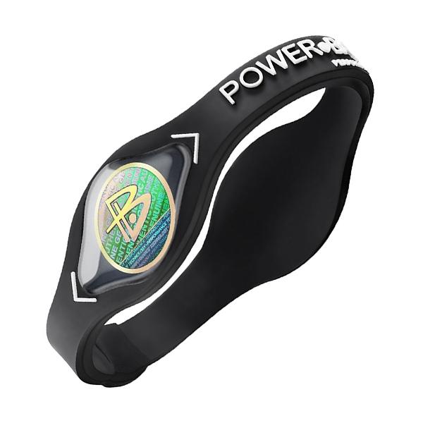 Power Balance silikonový náramek, Bílá